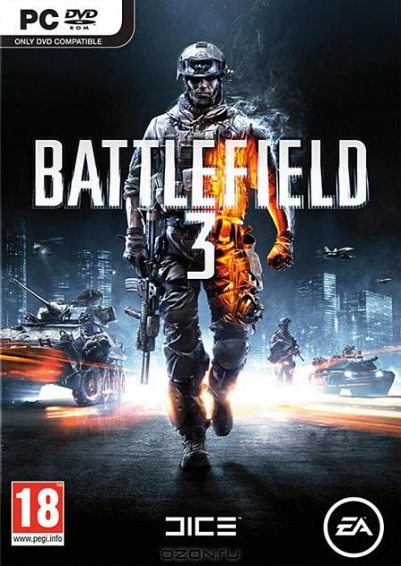 Популярный милитари-шутер Battlefield 3