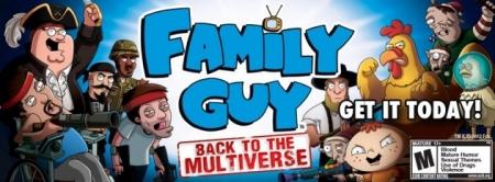 Family Guy Back to the Multiverse — унылый шутер от Гриффинов