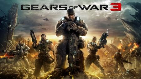 Брутальная игра Gears of War 3