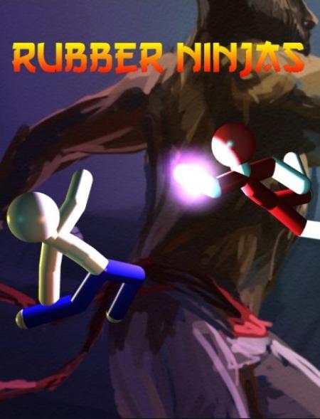 Забавная кукольная физика Rubber Ninjas