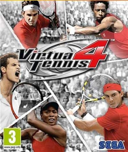 Симулятор большого тенниса Virtua Tennis 4