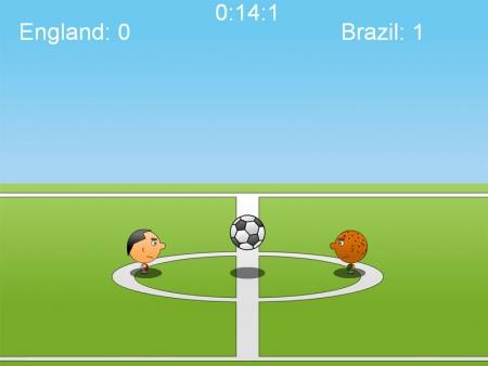 Игра о футболе на двоих игроков