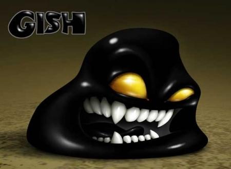 Gish — бедная капля смолы
