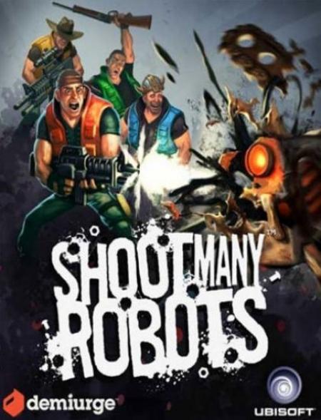 Shoot Many Robots — расстреляй все консервные банки