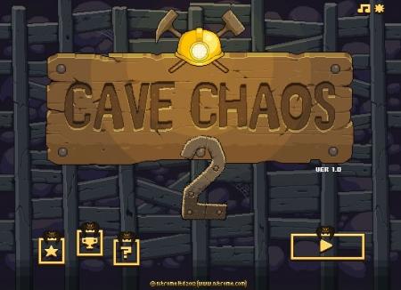 Флеш игра Cave Chaos 2