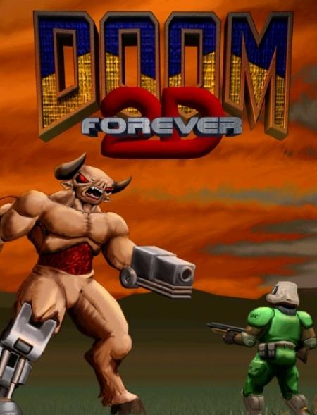Doom 2D Forever — настоящее олдскульное мочилово