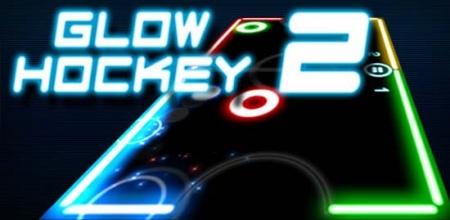 Неоновый аэрохоккей для Android — Glow Hockey 2