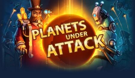 Противоборство людей и роботов в Planets Under Attack